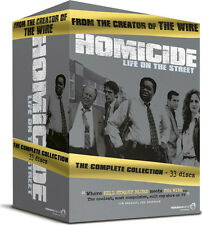 Homicide . Life On The Street . Complete Series Season 1 2 3 4 5 6 . 33 DVD NEU