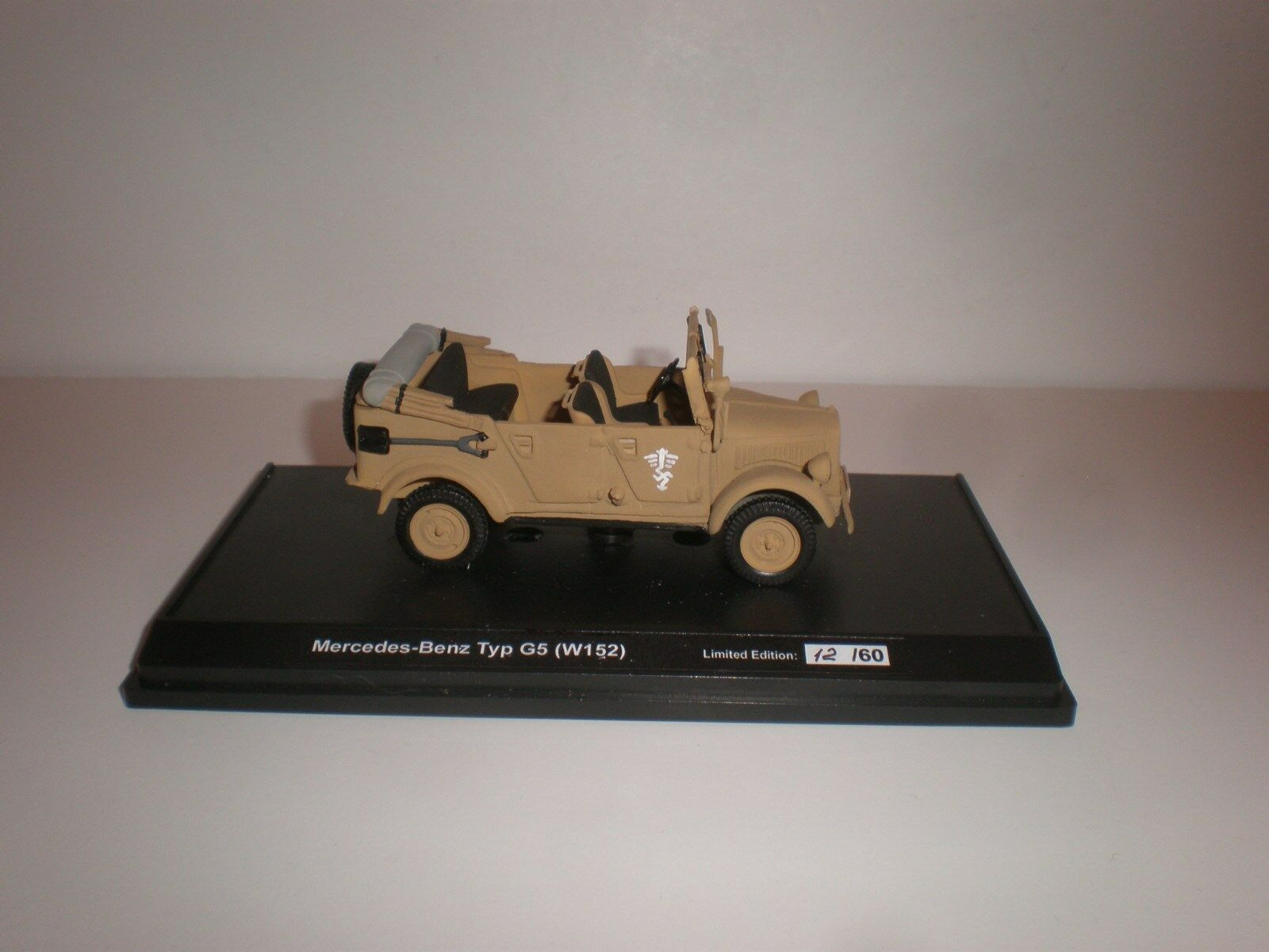 1 43 1937 MERCEDES BENZ G5 Army Jeep open Sand
