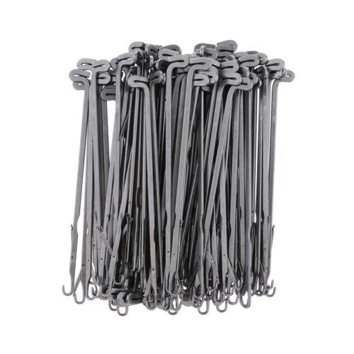 100 Lot Latch Hook Crochet Needle Jewelry Beading Beads Stringing Needle