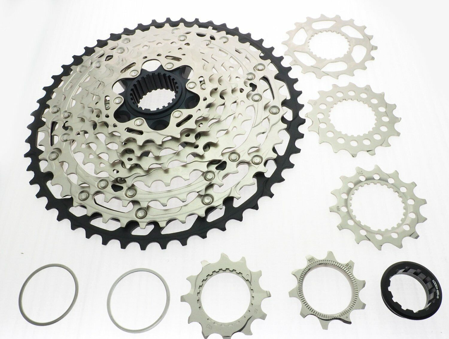 Shimano GRX FC-RX810-1 1x11 Speed CrankSet 175mm w//Chainring GRAVEL//CX READ
