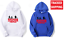 Felpa-sweatshirt-Hoodie-unisex-Stranger-Things-more-colour-netflix miniatura 1