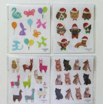 You Choose Sticko Stickers Race Cars Cactus Horses Ponies Sloth Dog Cat Llama