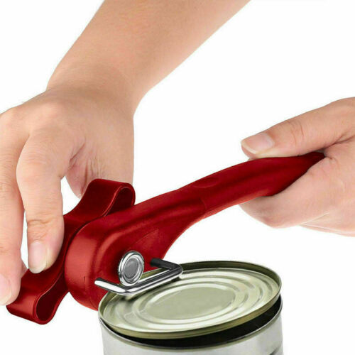 Ergonomic Manual Can Opener Cans Lid Lifter Smooth Side Home Edge M0V5 Best E6J5