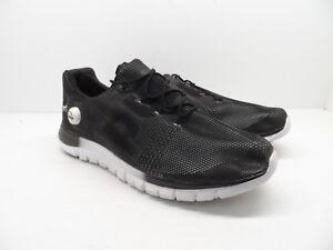 ce30c03b384 Reebok Men s ZPump Fusion PU Running Shoes Black White Size 12M