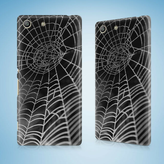 SPIDER WEBS #1 HARD CASE SONY XPERIA C3 C4 E4 M2 M4 SP T2 T3
