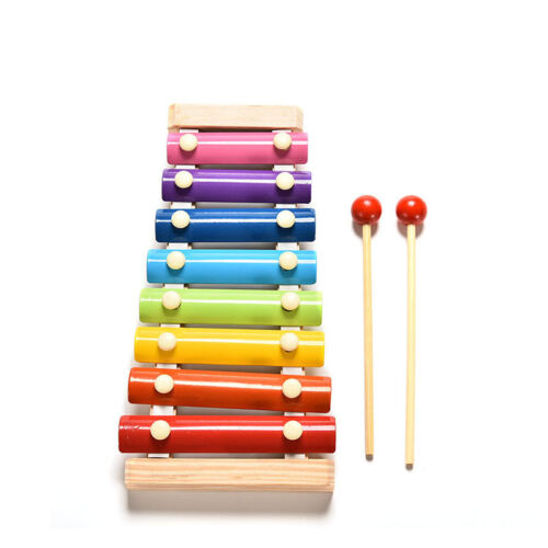 1X Cute 8Tone Xylophone Musical Toys Wisdom Development Wooden Toy for Baby SP
