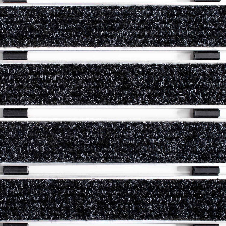 Alu Fußmatte Elegant Mat 2 Größen Größen Größen anthrazit türmatten schmutzfangmatte fussmatte 7f02d7