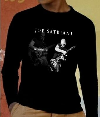 JOE SATRIANI GUITAR men t-shirt long sleeve t shirt ROCK sweatshirt
