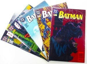DC-Comics-BATMAN-520-521-522-523-524-LOT-Doug-MOENCH-Ships-FREE