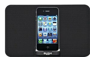 in stock 4552e 92266 Bush Portable AUX, iPhone and iPod Speaker Dock - Black:The Official ...