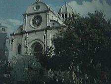 postcard unused zagreb sibenik cathedral