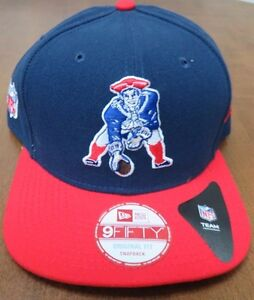 cc21e67d4e4 NFL  New England Patriots Pat Patriot 9FIFTY New Era Cap Flat Brim ...