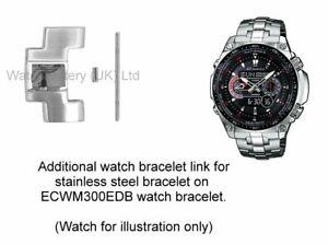 Genuine-Casio-Watch-Link-for-ECW-M300EDB-Stainless-Steel-Watch-Bracelet