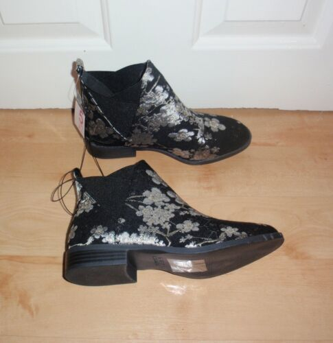 BNWT Primark womens embroided flower print ankle boots various sizes