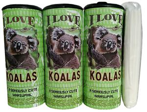 85022 Refillable Tissue Tube with 1 Refill package I Love Koala