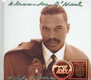 Alexander-O-039-Neal-All-True-Man-2-x-CD-1991-Album-Remastered-12-Bonus-Tracks