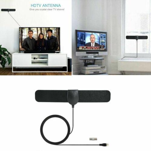 350 Miles Range Digital TV Antenna 1080P Amplified HDTV Booster USB Power HD 4K