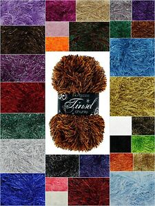 King-Cole-Tinsel-Chunky-50g-Knitting-Wool-Free-P-amp-P-Any-Quantity