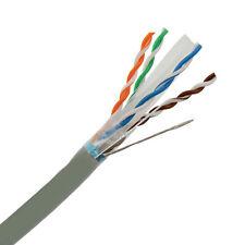 Cat6 Shielded Ethernet Cable 550MHZ STP 1000 Spool Black,