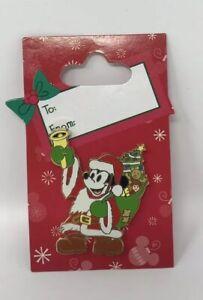 Disneyland-DLR-Father-Christmas-Mickey-Mouse-PIN-Disney-2006-Santa-Walt-Disney