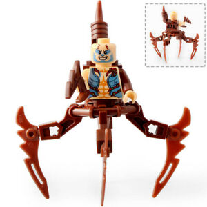 Lego type mini figurine serie marvel spiderman scorpion