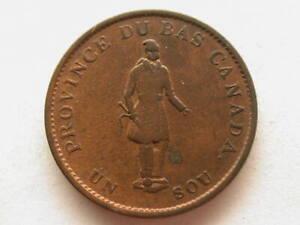 Canada 1837 1/2 Half Penny Token