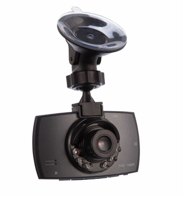 1080p FULLHD In Car DVR Camera CCTV IR Night Vision Motion Dash Cam Video Record