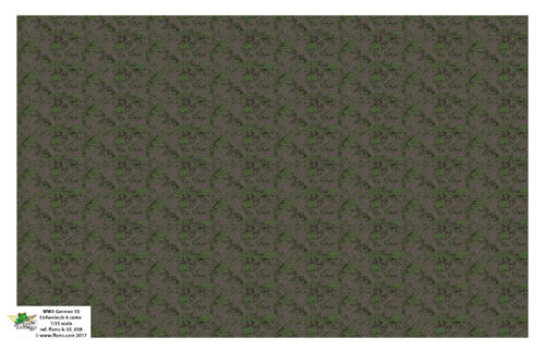 FFSMC Productions Decals 1//35 German WWII SS Eichenlaub A Camo Pattern