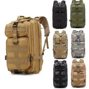 30L-Military-Tactical-Backpack-Outdoor-Rucksack-Bag-Waterproof-Shoulders-Bag