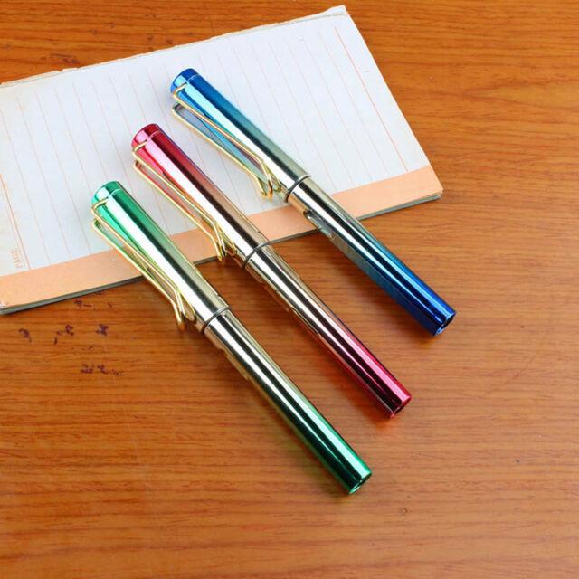 Jinhao 301 Yellow Fountain Pen Extra Fine Nib 0.38 mm