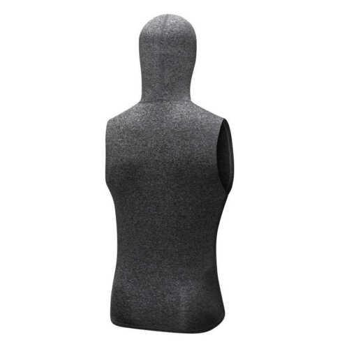 Men/'s Sports Hoodies Hooded Zip Up Tank Tops Running Sports Dri-fit Sleeveless