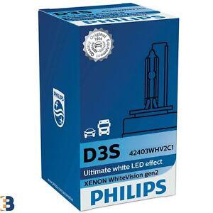 Philips-D3S-Xenon-WhiteVision-gen2-HID-Bombilla-faro-Blanca-Single-42403WHV2C1