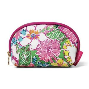 Round Top Travel Clutch Cosmetic Bag