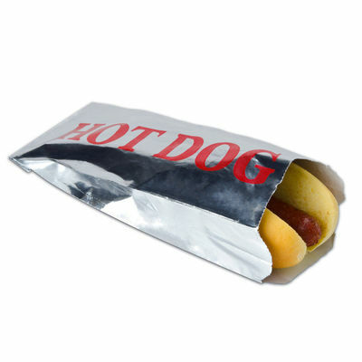 50 Hot Dog Bags Retro Foil Hot Dog Bags Party Favor Bag Picnics Pool Party