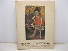 CIRICI-PELLICER Alexandre, Picasso avant Picasso. Avec 282 illustrations