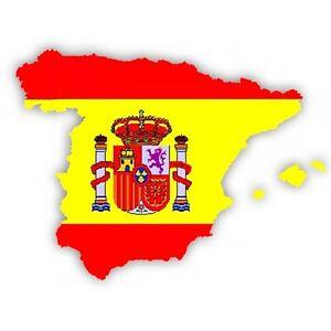 Details Zu Auto Aufkleber Spanien Espana Spain Vinyl Sticker Konturgeschnitten