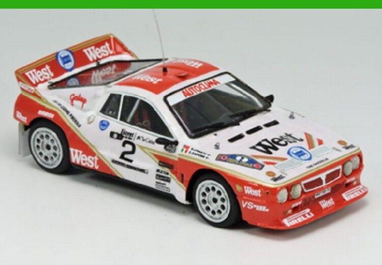 Lancia Rally 037 - En 1984 85, vendu monté