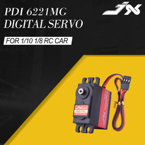 JX-PDI-6221MG-20KG-4-8V-6V-Torque-360-Digital-Servo-For-1-10-1-8-RC-Car-Boat