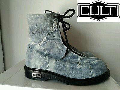 Cult Anfibio Col. Jeans N°36-38-39 Nuovo Ridurre Il Peso Corporeo E Prolungare La Vita