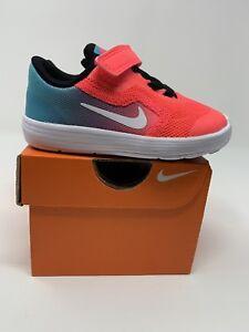 d16048b86d2f9 BABY GIRL: Nike Revolution 3 Shoes, Pink & Blue Ombré - Size 6C ...