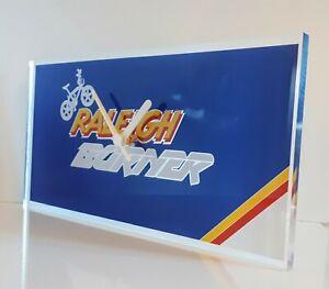 Raleigh-team-aero-pro-burner-BMX-bike-van-transporter-wall-clock-300x150x2mm