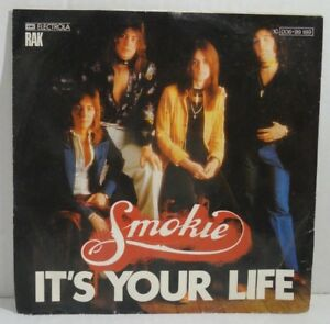 "SMOKIE - It's Your Life 7"" Single Vinyl - Süd-West Bayern, Deutschland - SMOKIE - It's Your Life 7"" Single Vinyl - Süd-West Bayern, Deutschland"