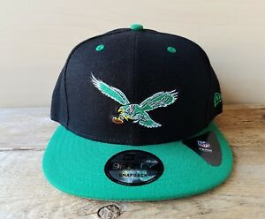 712ce26c Image is loading PHILADELPHIA-EAGLES-New-Era-9Fifty-Snapback-Hat-NFL-