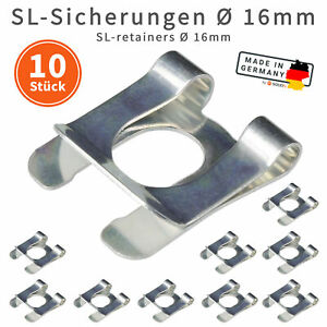 10x-SL-Sicherungen-16mm-Wellensicherung-fuer-Wellen-Bolzen-verzinkt-Sicherung