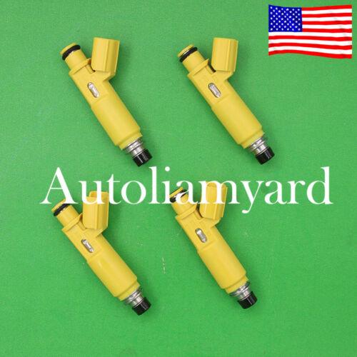 4pcs OEM Flow Matched Fuel Injector 23209-28050 For Toyota RAV4 2001-2003 2.0L