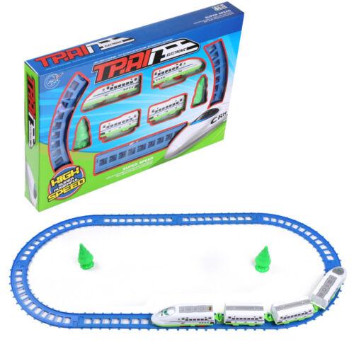 14pcs Super Speed Bullet Train /& Loop Railway Track Play Set Kids Toy Xmas Gift
