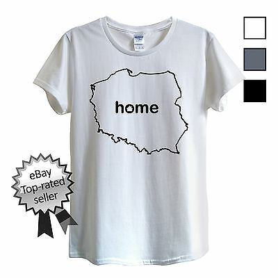Aggressiv Poland Home T-shirt Find Your Own Country Men Or Women's Polish Polska Warsaw