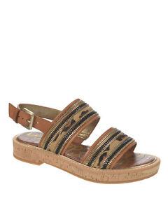 62a920521ba3 Brand New Sam Edelman Nala Calf Hair Sandals Women s Camel Leopard ...
