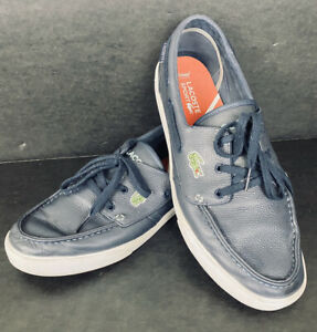 LaCoste Boat Shoes Keel Mov SPM Leather
