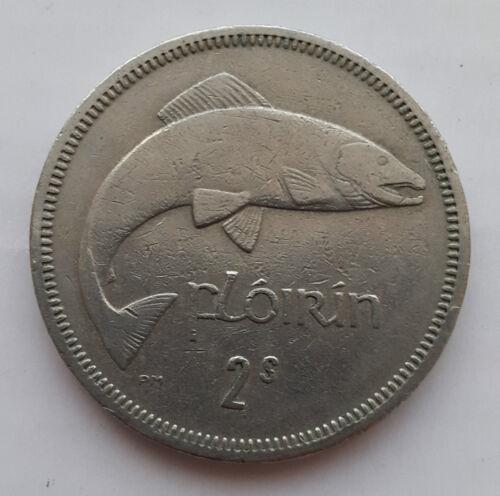 Old Irish Ireland Florin Salmon Coin Available Dates 1954-1968